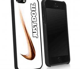 NIKE HAIR LOGO JUST DO IT - iPhone 4 Case, iPhone 4s Case and iPhone 5 case Hard Plastic Case KK