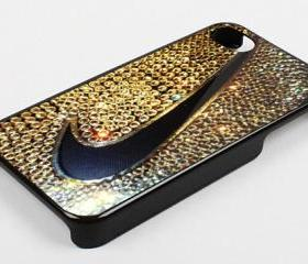 NIKE SPARKLE BLINK BLINK - iPhone 4 Case, iPhone 4s Case and iPhone 5 case Hard Plastic Case KK