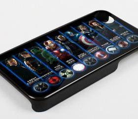THE AVENGERS POWER - iPhone 4 Case, iPhone 4s Case and iPhone 5 case Hard Plastic Case KK