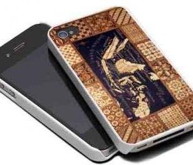 INDONESIA BATIK MAP - iPhone 4 Case, iPhone 4s Case and iPhone 5 case Hard Plastic Case MSH